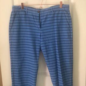 GAP Striped Khakis
